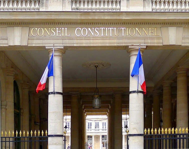 Dissertation Conseil Constitutionnel France